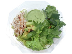 セブン-イレブン グリーンサラダとチキン冷製バジルソースパスタ
