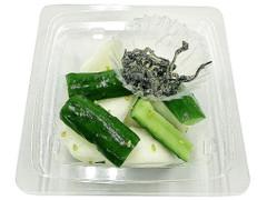 セブン-イレブン 塩昆布で食べる!かぶ胡瓜
