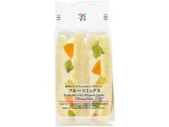 セブン-イレブン フルーツミックスサンド 黄桃
