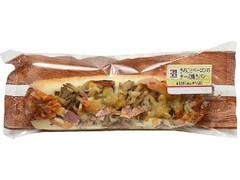 セブン-イレブン きのことベーコンのチーズ焼きパン