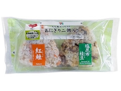 セブン-イレブン もち麦もっちり!紅鮭ごはん&塩昆布枝豆