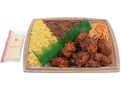 セブン-イレブン たっぷりマヨのピリ辛チキン&鶏そぼろ弁当