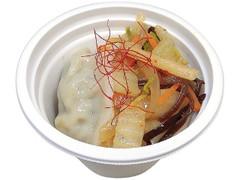 セブン-イレブン 辛さが決め手!餃子と野菜の辛味スープ