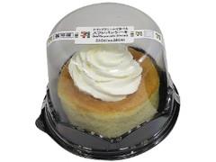 セブン-イレブン ホイップクリームで食べるスフレパンケーキ