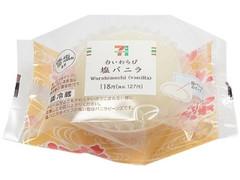 セブン-イレブン 沖縄出店記念!白いわらび塩バニラ
