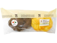 セブン-イレブン もちもちパン チョコ&カスタード