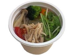 セブン-イレブン 野菜とサラダチキンのコンソメスープ