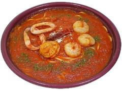 セブン-イレブン 魚介の辛口トマトパスタ ベスビオ風