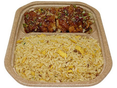 セブン-イレブン 鉄鍋炒めチャーハン 油淋鶏