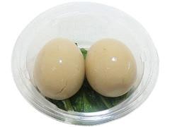 セブン-イレブン とろっと卵黄の煮玉子とサラダほうれん草