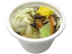 セブン-イレブン お肉の旨味!餃子と野菜の中華スープ