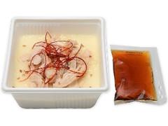 セブン-イレブン たんぱく質が摂れる なめらか豆腐 蒸し鶏
