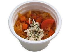 セブン-イレブン 野菜とサラダチキンのトマトスープ