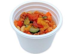 セブン-イレブン お豆と大豆ミートのトマトスープ