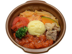セブン-イレブン 1日分の野菜 トマトのとろ~りチーズ鍋
