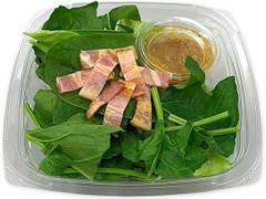 セブン-イレブン ほうれん草とベーコンのサラダ