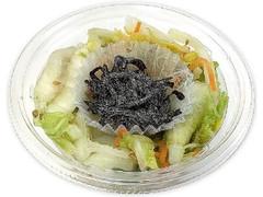 セブン-イレブン 塩昆布で食べる 白菜と大根のおつまみサラダ