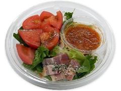 セブン-イレブン 旬を味わうトマトとベーコンのパスタサラダ