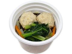 セブン-イレブン たんぱく質が摂れる!鶏団子の春雨スープ