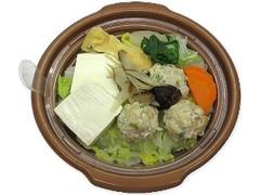 セブン-イレブン 10品目具材の塩ちゃんこ鍋