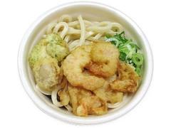 セブン-イレブン 海鮮天ぷら小盛うどん小海老・イカ・ほたて