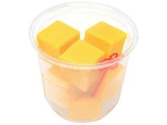 セブン-イレブン ひとくち濃厚かぼちゃチーズケーキ