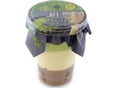 ロピア 絹ごしプリンパフェ 西尾の抹茶 カップ1個