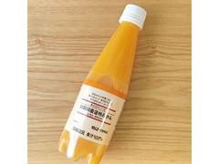 無印料品 無印良品 果汁100%ソーダ 静岡県産温州みかん 350ml