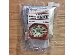 無印良品 食べるスープ 野沢菜とぶなしめじの味噌汁 袋49.5g