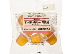 無印良品 果汁100% すっぱいゼリー 南高梅 袋23g×7