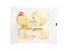 セブンプレミアム もちっと食感の チーズパン 袋4個