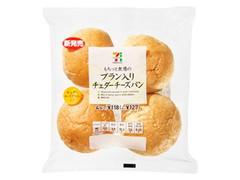 セブンプレミアム ブラン入りチェダーチーズパン 袋4個