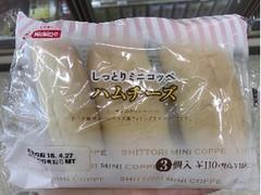 日糧 しっとりミニコッペ ハムチーズ 3個