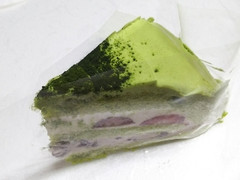 銀座コージーコーナー 苺の宇治抹茶ケーキ