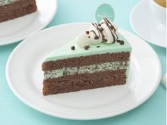 銀座コージーコーナー さくさく食感のチョコミントケーキ