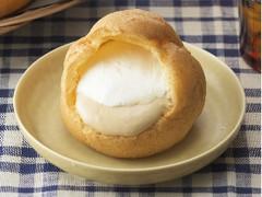 銀座コージーコーナー ジャンボシュークリーム チーズティー