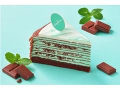 銀座コージーコーナー 夏のミルクレープ チョコミント