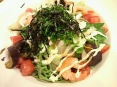 ガスト 糖質控えめ海老と野菜のさっぱりサラダ麺