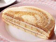 ローソンストア100 VL サンドケーキ プリン風味
