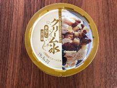 シャトレーゼ クリーム氷 きなこ 小豆と栗 カップ115ml