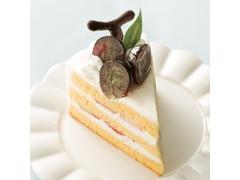 シャトレーゼ 山梨県産ピオーネ使用ピオーネのプレミアムショートケーキ