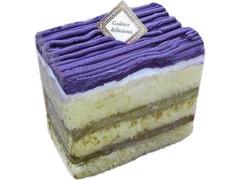 シャトレーゼ 紫芋とほうじ茶のケーキ