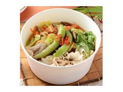 ナチュラルローソン 豚しゃぶと5種野菜の酸辣湯