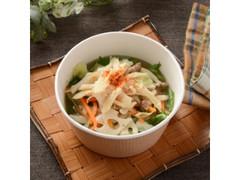 ナチュラルローソン 蒸し鶏と柚子七味の鰹出汁スープ