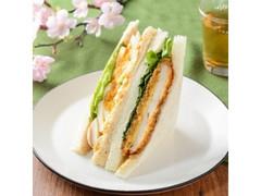 ナチュラルローソン 桜島どりの味噌カツと煮タマゴサンド