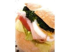 アンデルセン ハイジの白パン ハム&野菜サンド