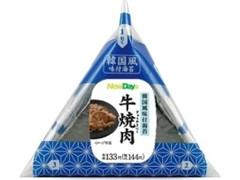 ニューデイズ 手巻韓国風味付海苔 牛焼肉おにぎり