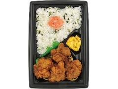 ニューデイズ 紅鮭野沢菜ご飯と唐揚げ弁当