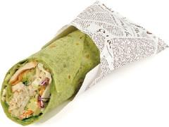 ニューデイズ スモークチキンとごま根菜サラダのトルティーヤ