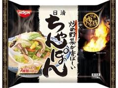 日清 冷凍 日清炒め技 ちゃんぽん 袋355g
